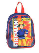 Backpack Mini Sam le pompier Blue brave 64360BRV