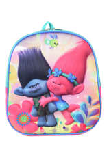 Backpack Mini Trolls Multicolor poppy 6104PYF