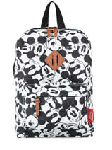 Backpack Mini Mickey and minnie mouse White fashion 88-8335