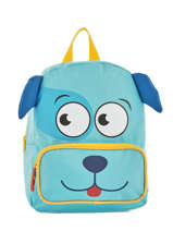 Backpack Mini Animal Green kids KIDEI02