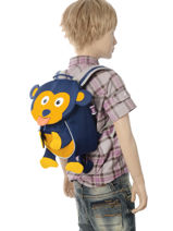 Backpack Affenzahn Black small friends AFZ-FAS2-vue-porte