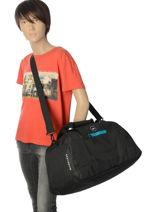 Cabin Duffle Luggage Quiksilver Black luggage QYBL3151-vue-porte