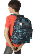 Backpack 1 Compartment Quiksilver Black youth access QYBP3512-vue-porte