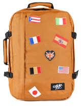 Sac De Voyage Cabine Flag Cabin zero Orange flag CZ14