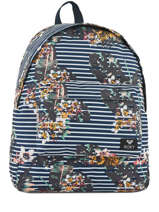Backpack 1 Compartment Roxy Black back to school RJBP3732