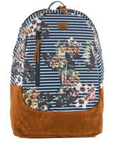 Backpack 1 Compartment Roxy Black back to school RJBP3740