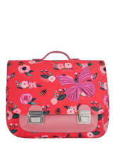 Cartable Jeune premier Rose canvas ITX18
