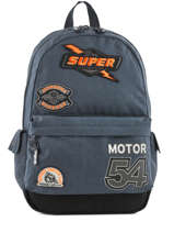 Backpack 1 Compartment Superdry Blue backpack men M91011NQ