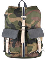 Backpack 1 Compartment Herschel Black offset 10233-O
