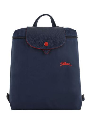 Longchamp Le pliage club Backpack Blue