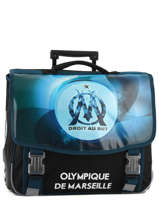 Wheeled Schoolbag 2 Compartments Olympique de marseille droit au but 183O203R