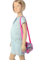 Bag Minnie Blue girl AS8203-vue-porte