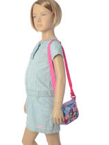 Crossbody Bag Minnie Blue girl AS8207-vue-porte