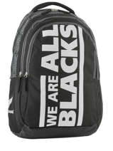Backpack 2 Compartments All blacks Black we are 173A204I