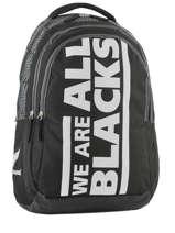 Sac à Dos 2 Compartiments All blacks Noir we are 173A204I