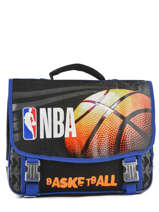 Satchel 2 Compartments Nba Black basket 183N203S