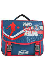 Cartable 2 Compartiments Paris st germain Bleu ici c'est paris 183P203S