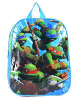 Backpack Mini Tortues ninja Multicolor attack AST0009