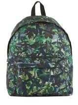 Backpack 1 Compartment Miniprix Green basic L07917