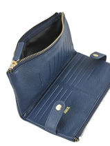 Purse Leather Miniprix Blue fancil LS2597-vue-porte