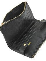 Purse Leather Miniprix Black fancil LS2597-vue-porte