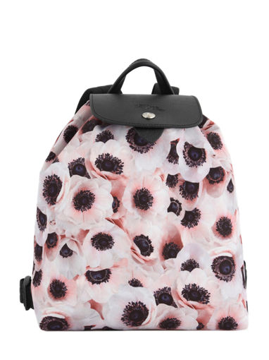 Longchamp Le pliage anÉmone Backpack Pink