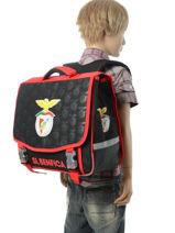 Satchel 2 Compartments Benfica Multicolor sl benfica 173E203S-vue-porte
