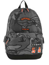 Sac à Dos 1 Compartiment Superdry Gris backpack men M91005JR