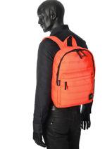 Backpack 1 Compartment Mueslii Orange classic 0RE-vue-porte