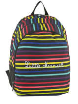 Backpack 2 Compartments Little marcel Black school 8871