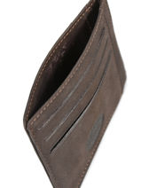 Card Holder Leather Francinel Brown 47902-vue-porte