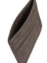 Card Holder Leather Francinel Green 47902-vue-porte