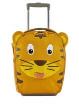 Kids Luggage Affenzahn Yellow trolley AFZ-TRL1