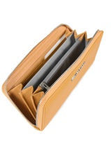 Wallet Miniprix Gray saffiano K1688-vue-porte