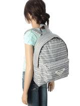 Backpack 1 Compartment Roxy Black back to school RJBP3731-vue-porte