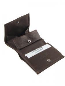 Porte-monnaie Cuir Lancaster Marron soft vintage homme 120-10-vue-porte