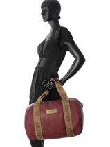 Shoulder Bag A4 Gallantry Red army G269-vue-porte