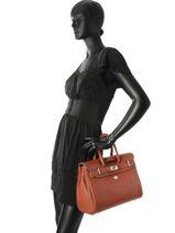 Shopping Bag Vesuvio Leather Mac douglas Brown vesuvio PYLVES-X-vue-porte
