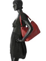 Shoulder Bag Nathan baume Red victoria N1720502-vue-porte