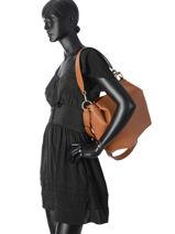 Shoulder Bag Digital Guess Brown digital VG685303-vue-porte