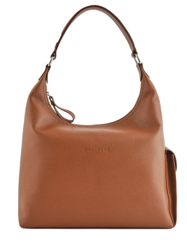 Longchamp Le foulonné Hobo bag Brown