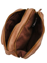 Toiletry Kit Basilic pepper Brown cow BCOW95-vue-porte