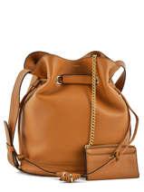 Shoulder Bag L Le Huit Leather Lancel Brown le huit A07110