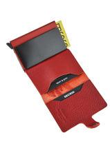 Porte-cartes Cuir Secrid Rouge original MST-vue-porte