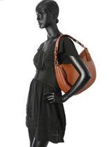 Hobo Bag Sutton Leather Coach Brown sutton 35593-vue-porte