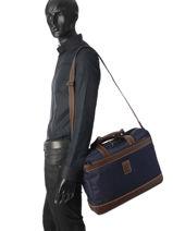 Longchamp Boxford Serviette Noir-vue-porte