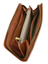 Wallet Woomen Orange acacia WACAC91-vue-porte
