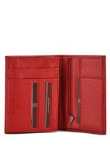 Wallet Leather Hexagona Brown toucher 627609-vue-porte