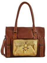 Shopper Vintage Leather Paul marius Brown vintage M