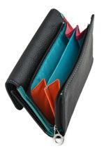 Wallet Leather Francinel Black cook 59909-vue-porte